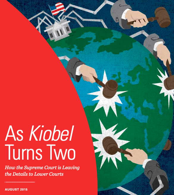 As Kiobel Turns Two Paper